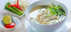 how to make Pho Ga – noodle soup with chicken