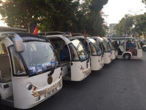Exploring Hanoi by Electric Car