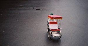 Cyclo In Hanoi City