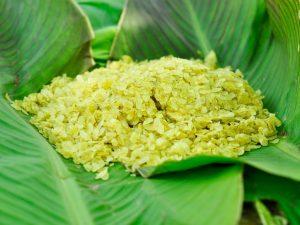 Com – green sticky rice