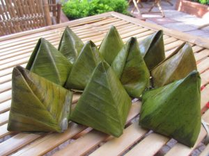 Pyramidal Rice Dumpling