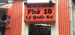 The Best Pho Of Hanoi