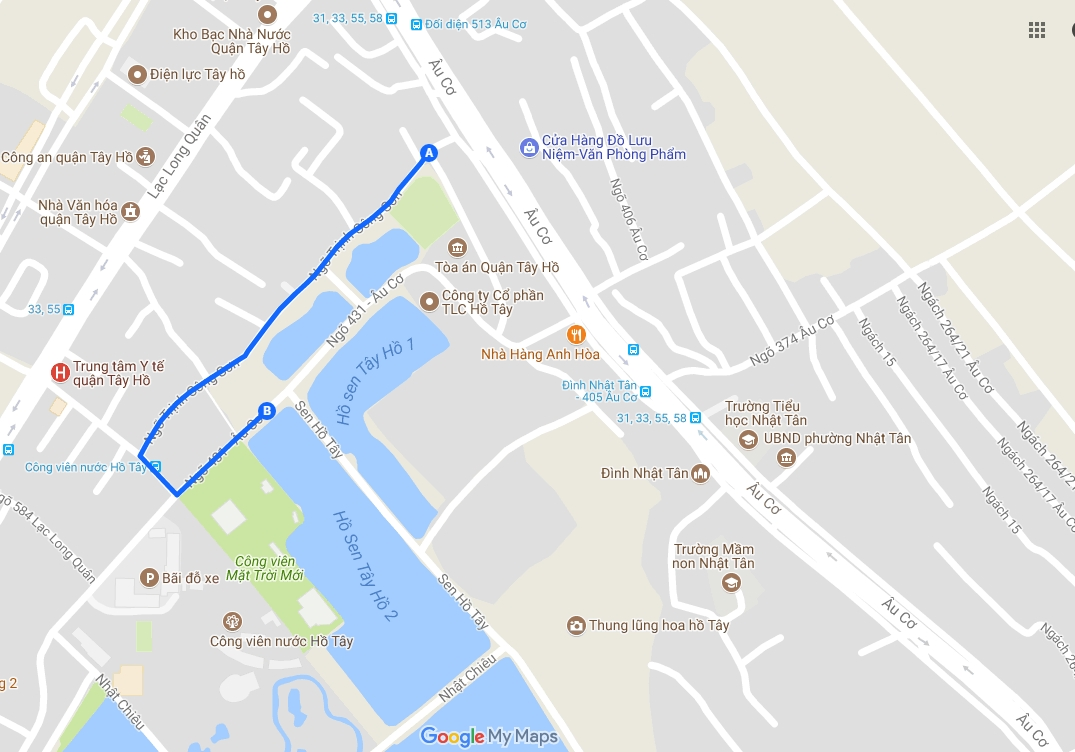 Hanoi's Third Pedestrian Zone To Plan Open In West Lake