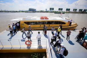 Saigon's First River Bus