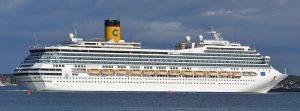 Costa Fortuna Cruise Ship Arrived Quang Ninh