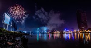Saigon Hold Fireworks Show To Welcome New Year