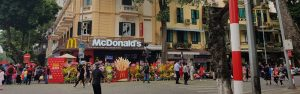 McDonald's Opens The First Restaurant In Hanoi