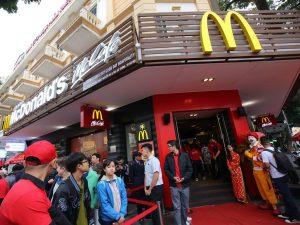 McDonald's Opens The First Restaurant In Hanoi