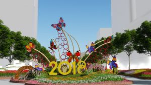 Lunar New Year: Nguyen Hue Street Has New Look