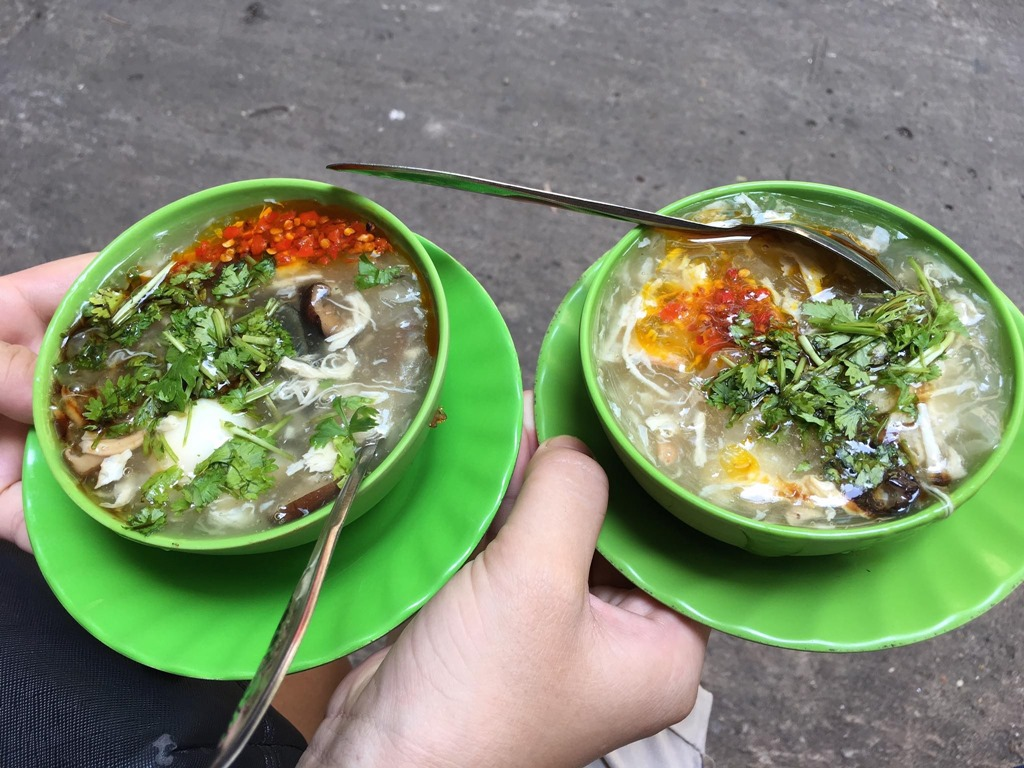 Saigon Crab Soup - Ha Food Tours