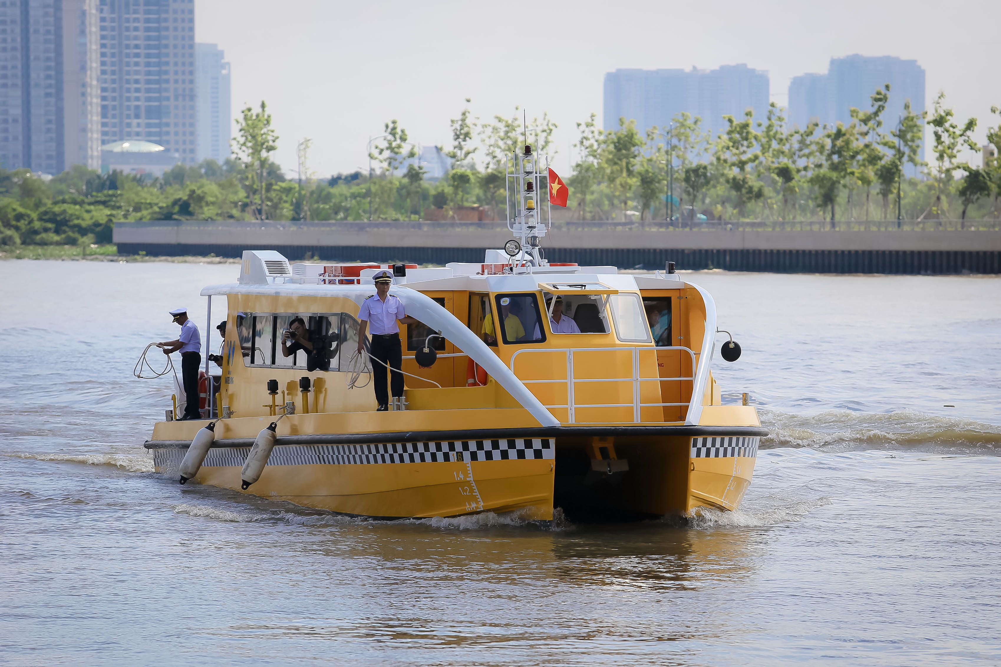 Ho Chi Minh City's First River Bus Offer Free Trail For 10 Days - Ha Food Tours