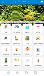 Sapa Tourism Application
