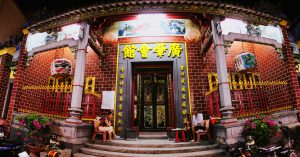 Inside Chinese Temple Of Ong In Can Tho