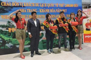 The 2 Millionth Foreign Visitor Arrives Khanh Hoa