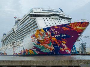 World Dream Cruise Ship Docks At Cai Mep Port